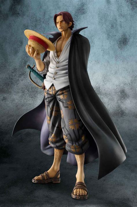 One Pop Excellent Model Hair Shanks Strong Edition megahouse portrait of pop one neo dx haired shanks 1 8 figure ebay