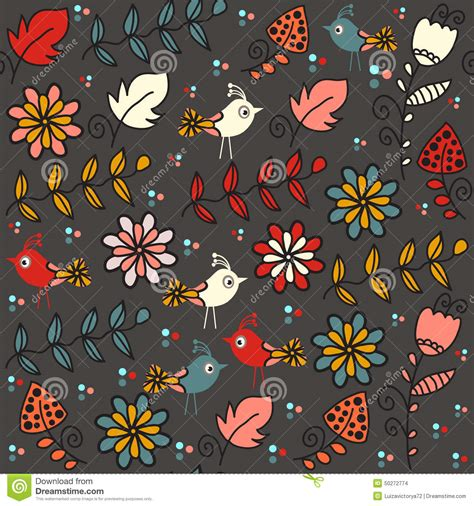 background pattern names kids seamless pattern with funny birds and seamless