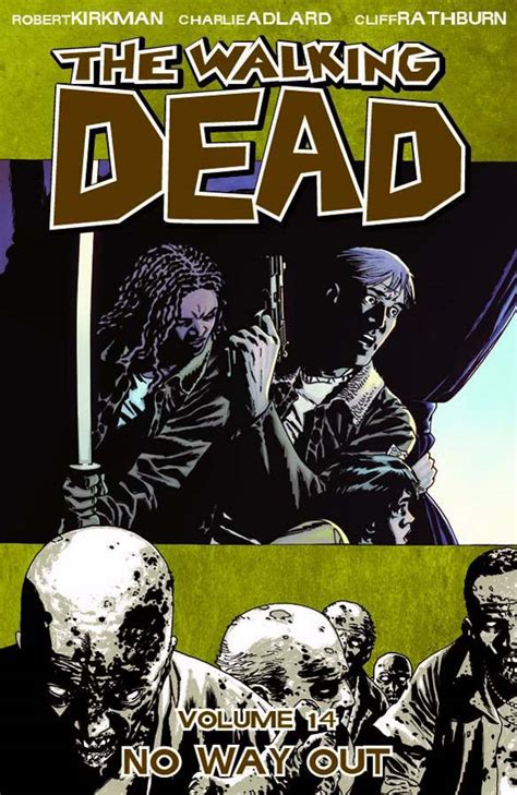 the walking dead book 13 february 2014 silent cacophony