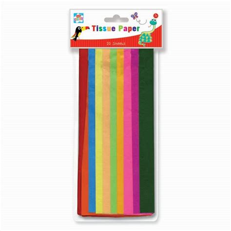 Papercraft Supplies Uk - tissue paper crafts coloured buy at qd stores