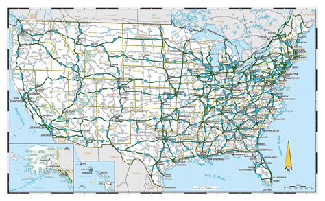 maps of the usa large highways map of the usa usa maps of the usa