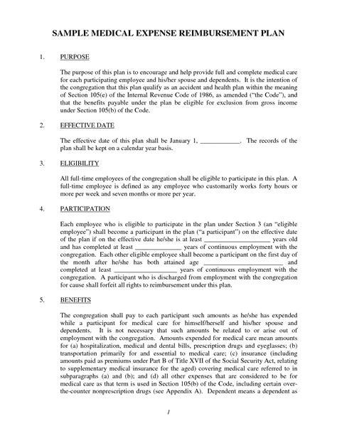 section 105 medical reimbursement plans section 105 medical reimbursement plans 28 images best