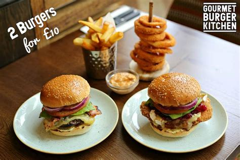 Gourmet Burger Kitchen Coleslaw Recipe by 2 For 163 10 Burgers For 1 Week Only At Gourmet Burger