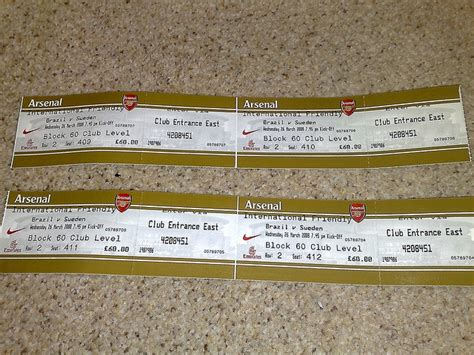 arsenal tickets 180 best arsenal tickets images on pinterest arsenal