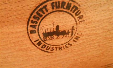 bassett furniture co mid century modern bedroom suite at