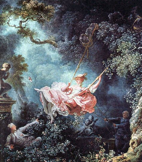 jean honoré fragonard the swing the swing by jean honor 233 fragonard my daily art display
