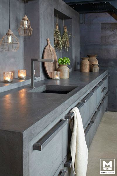 concrete kitchen design concrete kitchen design decoholic