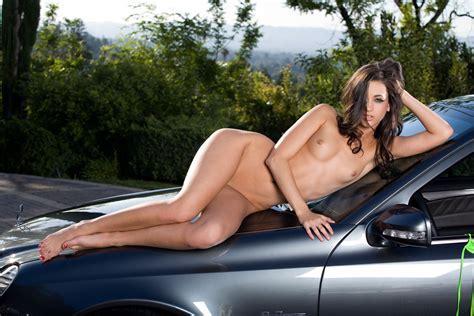 Wallpaper Tits Nude Car Model Georgia Jones Desktop Wallpaper Girls Cars Id