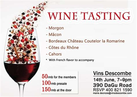 wine flyer template wine tasting flyer template images