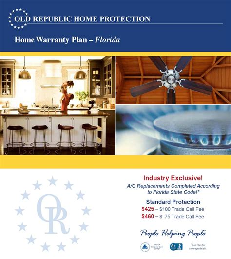 republic home warranty plan florida by era american