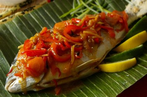 whole fish for new year new year whole fish with sweet and sour vegetables