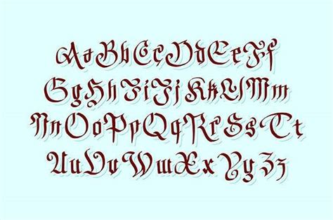 10 gothic fonts ttf otf format download design