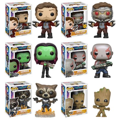 funko guardians of the galaxy 2 pop vinyls revealed
