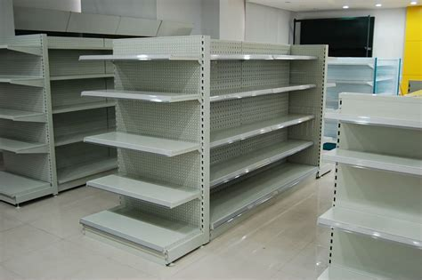 Store Shelves And Racks Image Gallery Store Shelving
