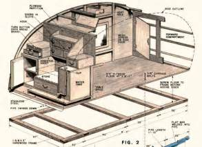 Teardrop Cer Floor Plans How To Build A Teardrop Trailer For Two