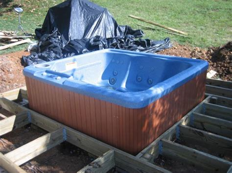 how to install a jacuzzi bathtub 9 diy outdoor hot tubs you can build yourself shelterness