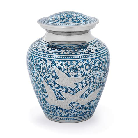Small Home Urn Birds In Flight Child Small Cremation Urn Cremation Urns