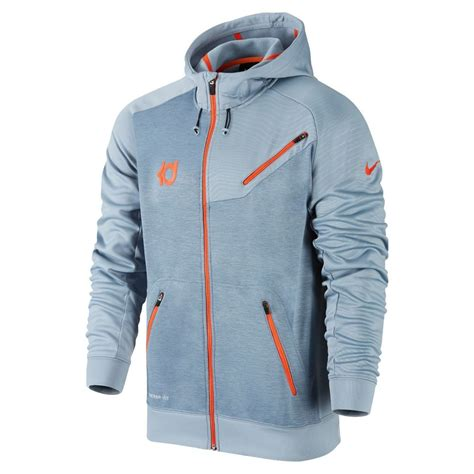 Jaket Nike Premium Zipper 1 nike kd7 premium zip 620726 075 grey orange s basketball hoodie xl ebay