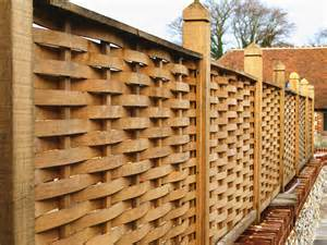 Privacy Trellis Fencing Beautiful Designer Fence Panels Hand Made From Oak Quercus