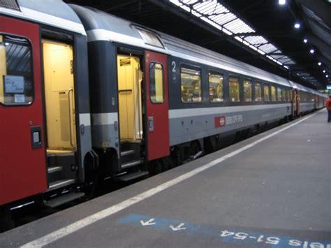 Sbb Eurocity Wagen Im Ec Nach M 252 Nchen Z 252 Rich 23 02 07