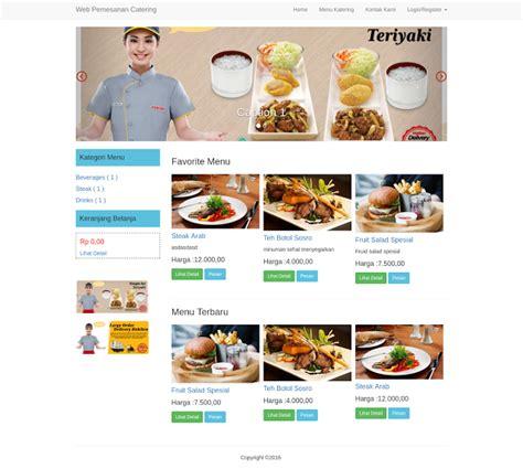 delphi catering tutorial pondoksoft download aplikasi pemesanan catering online