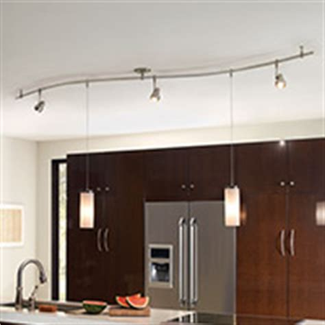 monorail lighting kitchen kitchen lighting ceiling wall undercabinet lights at
