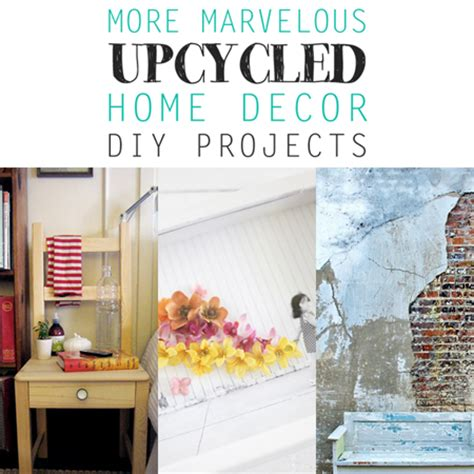 marvelous upcycled home decor diy projects the cottage