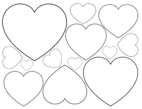 1000 images about printable hearts stars on pinterest printable valentine heart cutouts1000 ideas about heart