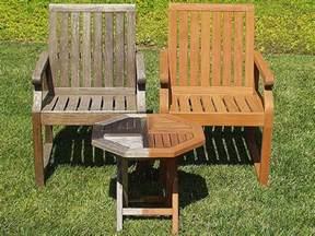 refinishing outdoor wood furniture furniture design ideas