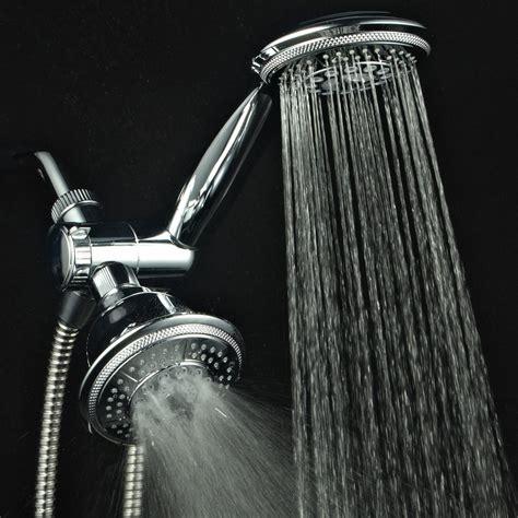 Shower Chrome Water Plus dual shower handheld combo bathroom 3 way water diverter wall mount chrome ebay