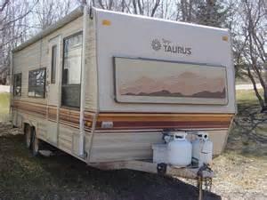 1986 23 fleetwood terry taurus 23m travel trailer