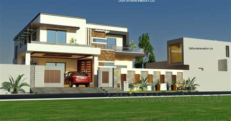 Home Design Plans For 1000 Sq Ft 3d 3d front elevation com 1 kanal house plan layout 50 x 90