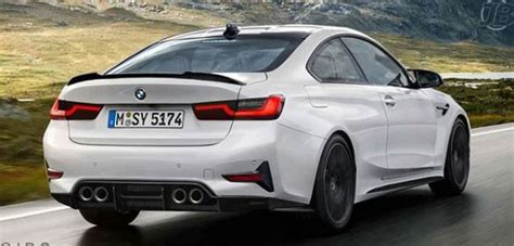 Bmw M4 2020 by 2020 Bmw M4 Rendered Based On New 3 Series Looks Legit
