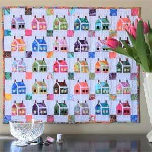 picking pattern for house that built me the house that kaffe built free paper pieced miniature