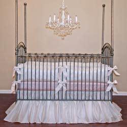 Silk Crib Bedding Set Silk Crib Bedding Set