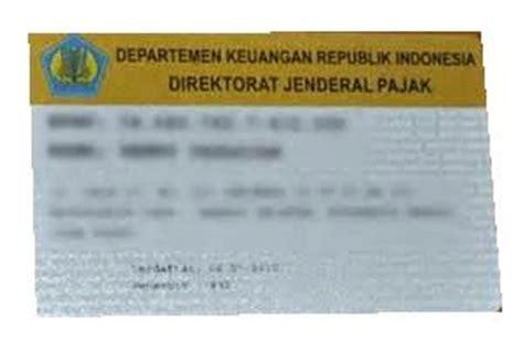 apakah membuat kartu kuning harus sesuai ktp cara dan syarat mengurus npwp langsung di kpp legal prosedur