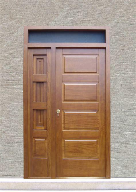 puerta de entrada madera puertas de entrada hechas en madera carpinteria fusta