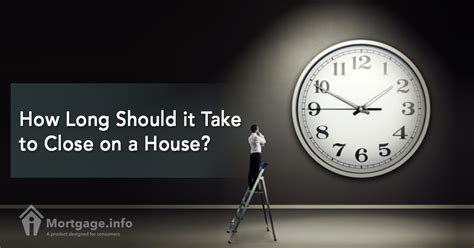 how long to close on a house how long should it take to close on a house mortgage info