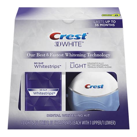 crest 3d white with light review crest 3d white whitestrips with light tooth whitening kit