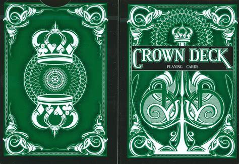 Crown Deck Green Card cards crown green