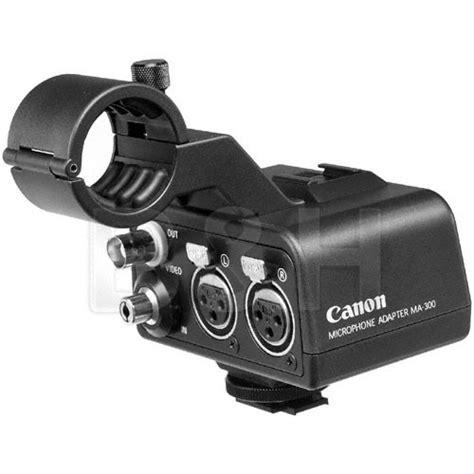 Audio Xlr Canon Cewek Atau canon ma 300 dual xlr microphone adapter 8032a002 b h photo