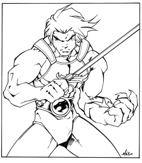 thundercats coloring pages thunder cats free colouring pages