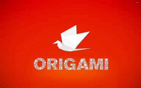 Origami Typography - origami wallpaper typography wallpapers 46033