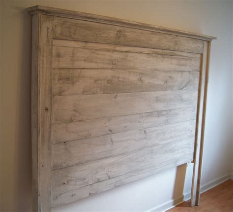 Distressed Headboard by Headboard For Bed Shabby Chic Weathered White