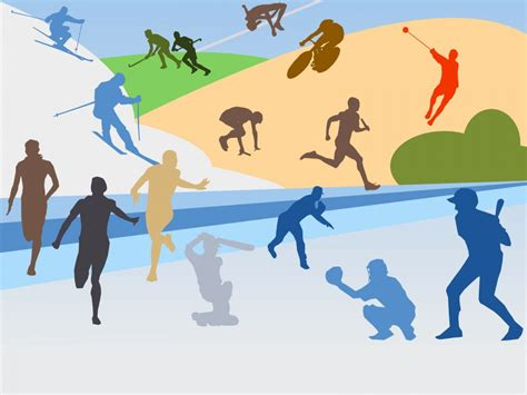 sports powerpoint template top ten sports power point templates free ppt