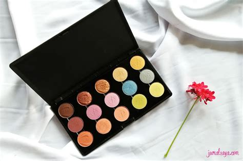 Eyeshadow Inez Professional review inez color eyeshadow palette jurnalsaya