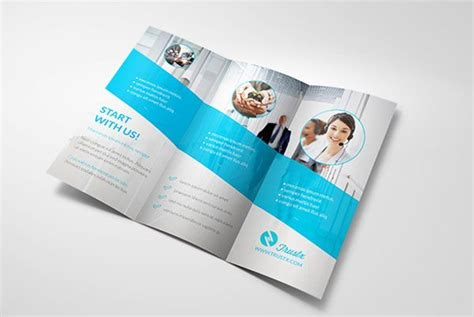 tri fold brochure design templates trustx corporate tri fold brochure template 3 25 really