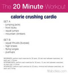 at home cardio workout best 20 minute no running cardio workouts to burn