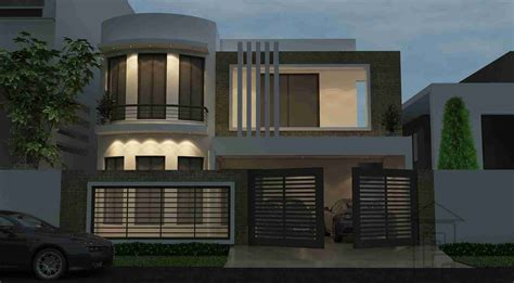 home design 4 marla 10 marla front elevation gharplans pk