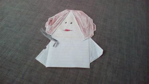 How To Fold Origami Princess Leia - princess leia search results origami yoda